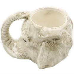 Animal 3D Elephant Ceramic Coffee Mug