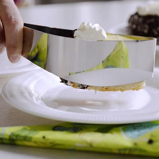 304 Stainless Steel Cake Cutter Slicer Knife