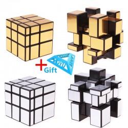 3x3x3 Magic Mirror Cast Coated Puzzle Cubes