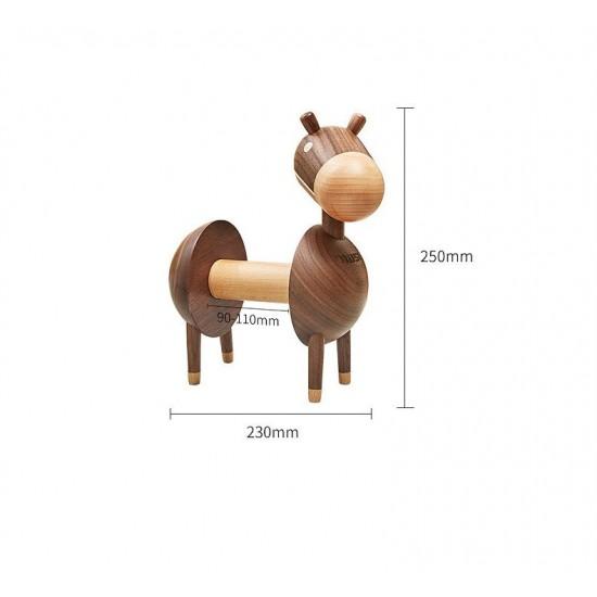 Wooden Donkey Paper Towel Tissue Holder
