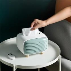 Plastic Radio Tissue Box