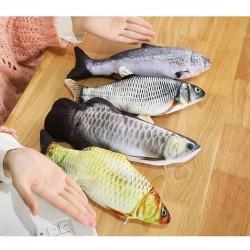 Simulation Dancing Fish Plush Pet Toys for Cat