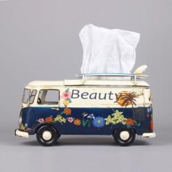 Retro Bus Tissue Box