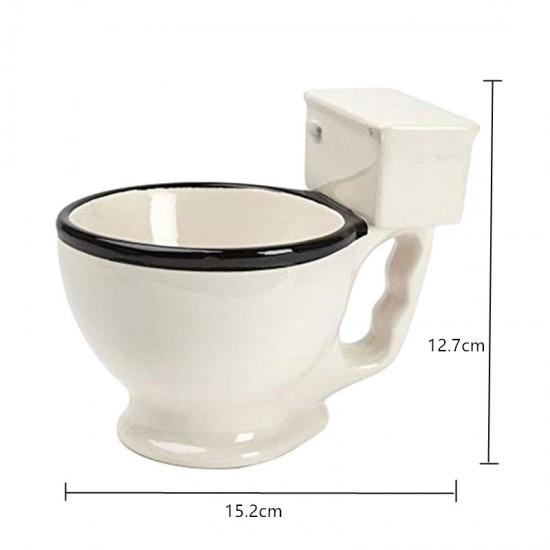 Novelty Toilet Ceramic Mug