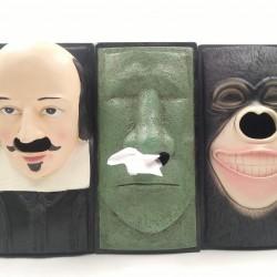 Shakespeare Gorilla 3D Tissue Box