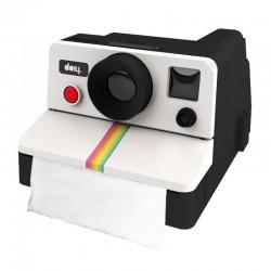 Retro Polaroid Camera WC Tissue Box