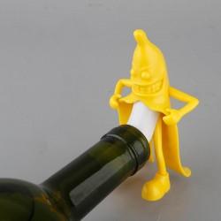Banana Wine Cork Bottle Plug Funny Stopper