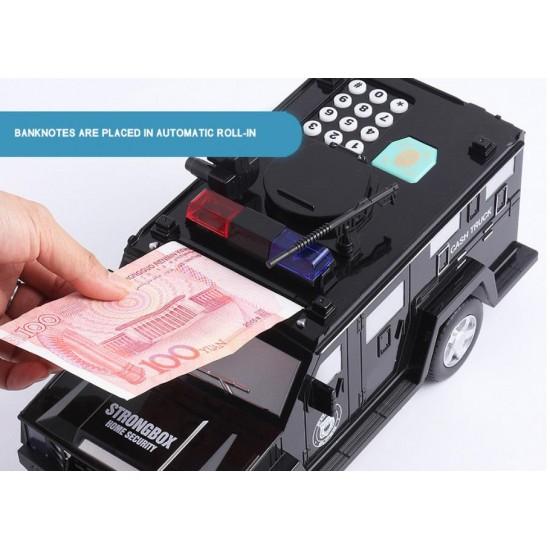 Cash Truck Electronic Password Piggy Bank