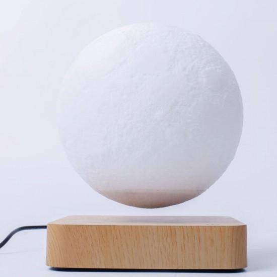 3D Magnetic Levitation Rotating Moon Lamp Night Light