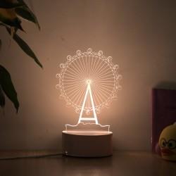 Creative Acrylic LED Night Light Table Lamp